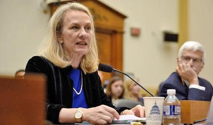 Alice Wells, U.S.'s top envoy for South and Central Asia.