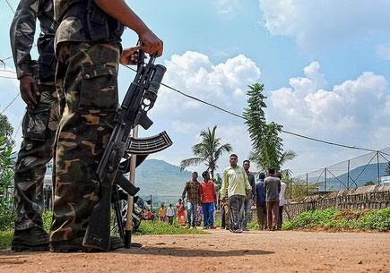 Regular operations by the security forces have reduced the Maoists' presence to small pockets of Chhattisgarh, AOB region and Dandakaranya, say police officials.