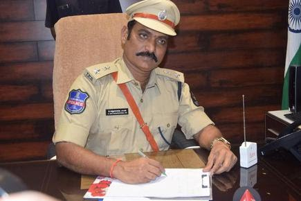 Ramagundam Police Commissioner and SP in-charge of the district, V. Satyanarayana. File