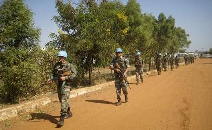 UNMISS troops from India in South Sudan. File