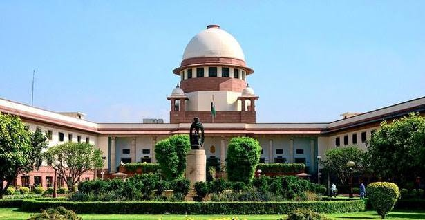 A view of the Supreme Court of India. File